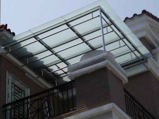 屋顶雨棚效果图